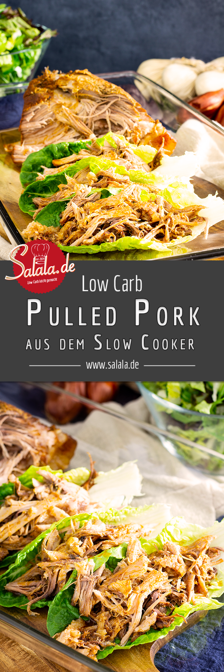 #pulledpork #lowcarb #lowcarbrezepte #slowcooker #keto