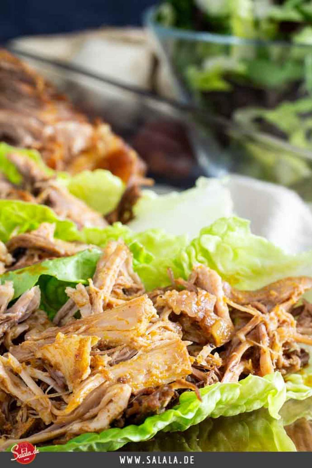 Pulled Pork aus dem Slow Cooker I by salala.de I super saftiges Low Carb Rezept