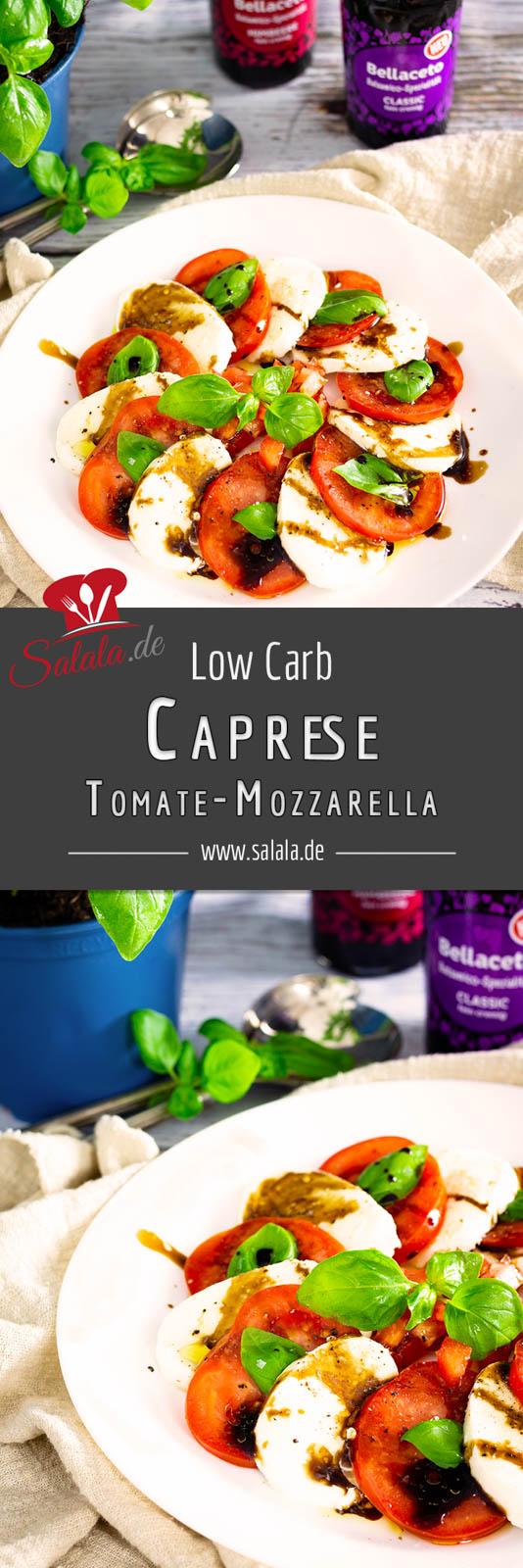 #KuehneBellaceto #AllYouNeedIsBellaceto #caprese #tomatemozzarella #lowcarbsalat #salatmitmozzarella