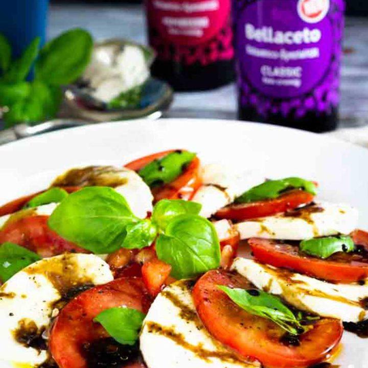 Caprese oder Tomate Mozzarella I by salala.de I mit Kühne Bellaceto Balsamico Spezialität Low Carb Rezept 2