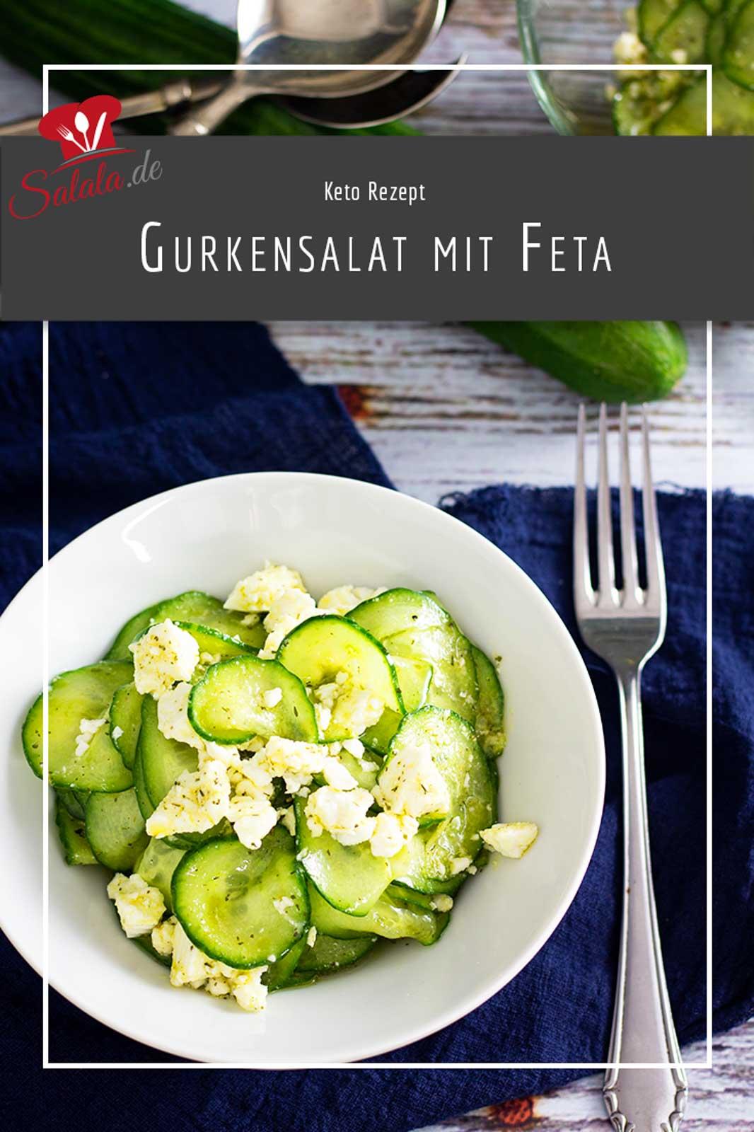 Gurkensalat ist total einfach und so schnell selber gemacht. Wenn du ihn ein wenig aufpeppen willst, dann brösel Feta mit rein, haben wir nämlich so gemacht :). Und ganz ohne Zucker ist er auch schön Low Carb und Keto.  #gurkensalat #gurkensalatrezept #lowcarbrezepte #gurkensalatmitfeta #gurkensalatselbermachen #salatsoße #lowcarbsalat #salatsoßeselbermachen