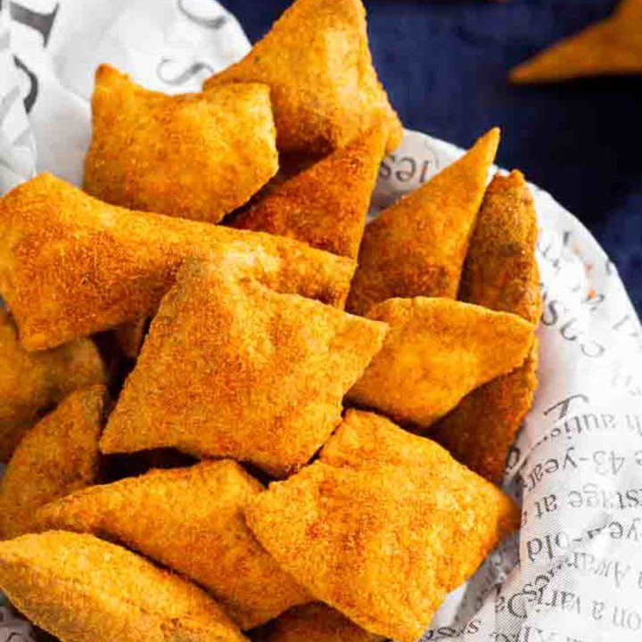 Keto Tacochips selber machen ohne Mehl mit Würzmischung I Low Carb Rezept 1