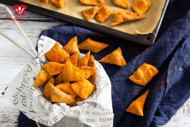 Knusprige Taco-Chips
