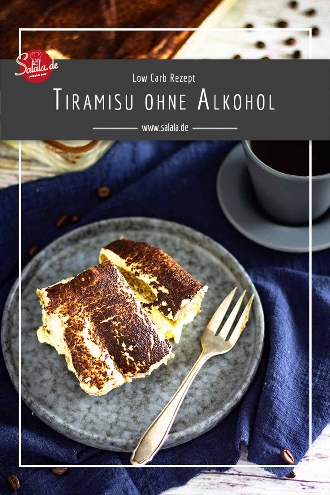 Leckeres Tiramisu ganz ohne Zucker und ohne Alkohol, so wie es sich für Low Carb oder Keto eben gehört. Auch den Löffelbisquit haben wir duch einen Low Carb Bisquit ausgetauscht. Probier's aus und sag uns deine Meinung.  #Tiramisu #LowCarbTiramisu #TiramisuohneAlkohol #LowCarbDessert #NachspeiseohneZucker