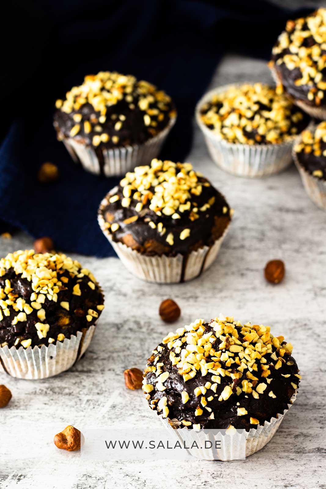 Haselnuss Muffins ohne Zucker I by salala.de I Low Carb Rezept by salala (4)