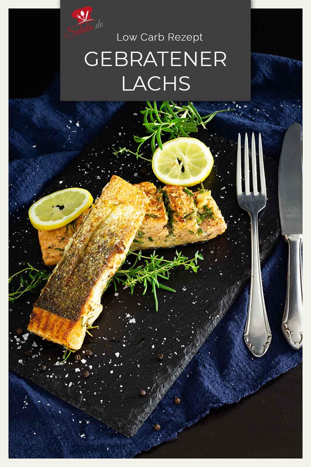 Lachs braten ist gar nicht schwer. Und auch eine knusprige Haut unter dein Lachsfilet zu zaubern ist ganz einfach. Wie genau du das machst? Schau mal ins Rezept, da zeigen wir Dir, wie einfach du ein knuspriges und total saftiges Low Carb Lachsfilet zauberst. #lowcarbrezept #lachsfilet #lachsfiletmithaut #lachsanbraten #knusrpigerlachs #lowcarbfisch #lowcarbfischrezepte #rezept #fisch #lachs