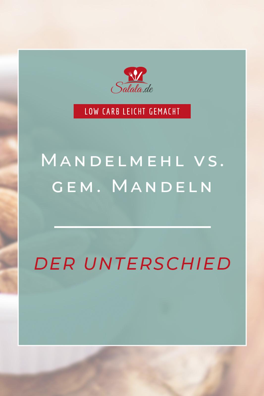 Was ist der Unterschied zwischen Mandelmehl und gemahlenen Mandeln? Kann man die einfach gegeneinander austauschen? Das erfährst du in diesem Artikel.  #Mandelmehl #Mehlvergleich #LowCarbMehl #backenmitMandelmehl #gemahleneMandeln #UnterschiedMandelmehlgemahleneMandeln #LowCarbbacken #LowCarbMehl #Mehlersatz