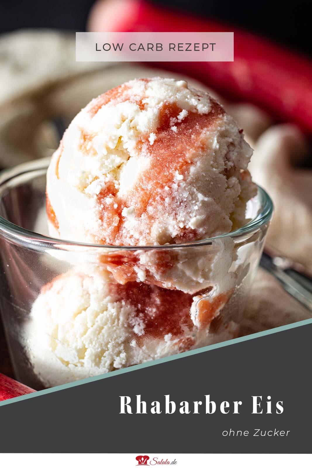 Hast du schon mal aus Rhabarber ein Eis gemacht? Falls nein, dann mach. Falls doch, dann probier unser Rezept auch mal aus. Das ist nämlich zuckerfrei und voll Low Carb. Geht auch ganz schnell egal ob mit oder ohne Eismaschine. Und die Eiskugeln haben hinterher auch so schöne Streifen :). #lowcarbeis #lowcarbeisrezept #eisohnezucker #zuckerfrei #rhabarbereis #eisohneeismaschine #eismiteismaschine #ketoeis #eisselbermachen