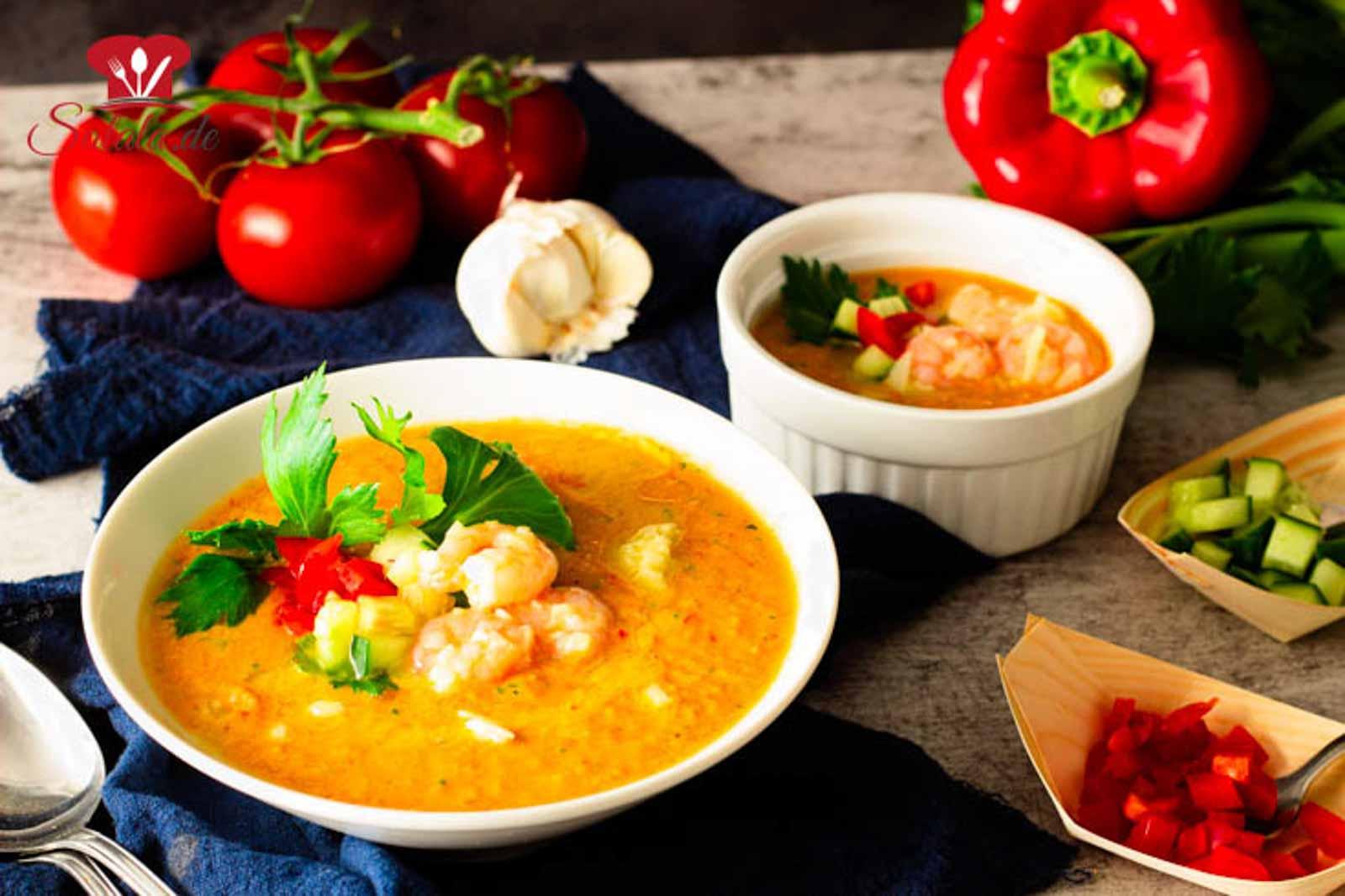 Gazpacho – Rohkostsuppe Low Carb | salala.de – Low Carb leicht gemacht