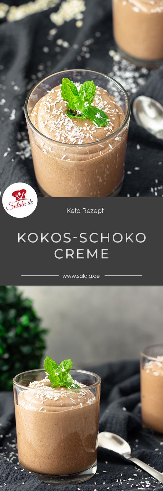 Ohja, auch beim Fettfasten darf man Naschen und wie :). Stell dir mal vor, du machst eine Creme aus süßer Kokosmilch und würzt das mit einem Hauch Zimt und Vanille. Zum Schluss bekommt die Creme noch ein wenig Farbe, Kakao nämlich. Kannst du's schon schmecken? Ganz zart schmelzend und herrlich cremig. So ein richtig perfektes Dessert mit wenig Kohlenhydraten.  #fettfasten #ketodessert #lowcarbnachspeise #nachspeiseohnezucker #lowcarbpudding #dessertohnezucker #lowcarbdessert #naschenohnereue #kochenmitkokosmilch #kokosdessert #schokokokosdessert