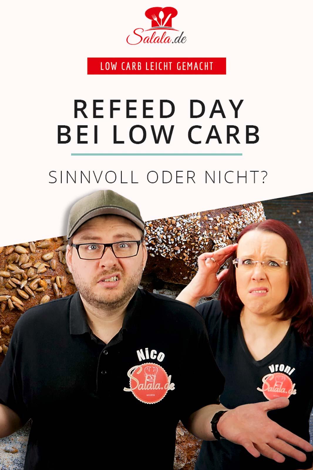 Refeed Day ist ja so ein Ding aus der anaoblen Diät. Es gibt aber einige, die einen Refeed auch bei Keto oder Low Carb empfehlen. Aber ist das wirklich sinnvoll? Und was genau ist der Unterschied zu einem Cheat Day?  #refeed #refeedday #carbloading #cheatday #lowcarb #lowcarbwissen #gesundekohlenhydrate #keto #ketorefeed