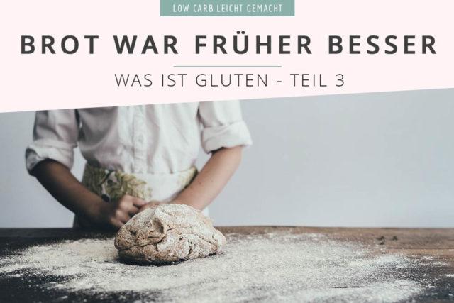 Warum ist Gluten plötzlich schlimm? (Was ist Gluten? Teil #3)