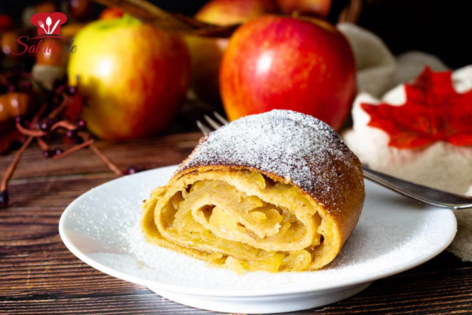 Low Carb Apfelstrudel!