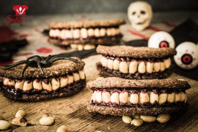 Zombiegebiss – zuckerfreies Halloweenzeug