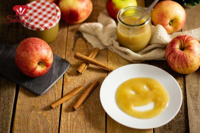 Apfelmus ohne extra Zucker