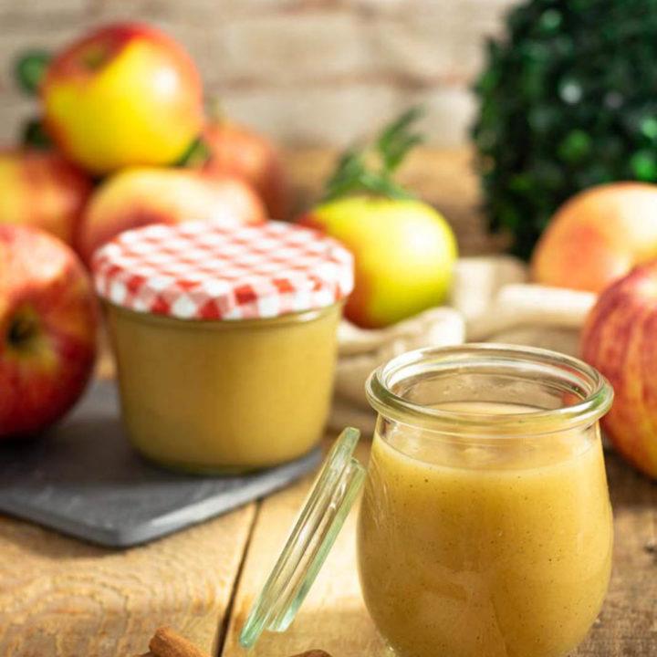 Apfelmus ohne Zucker I by salala.de I natürliches Apfelmus ohne Zucker und ohne Zusätze selber machen Rezept 2