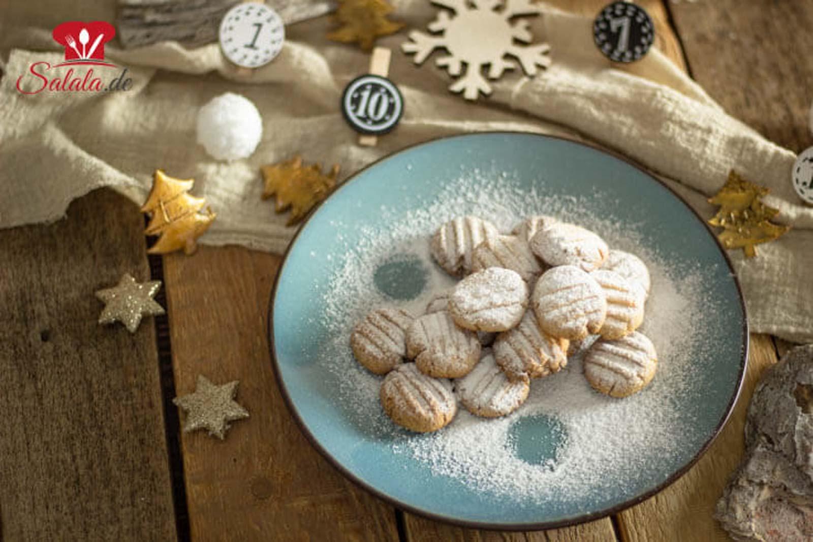 Low Carb Schneeflöckchen ohne Zucker