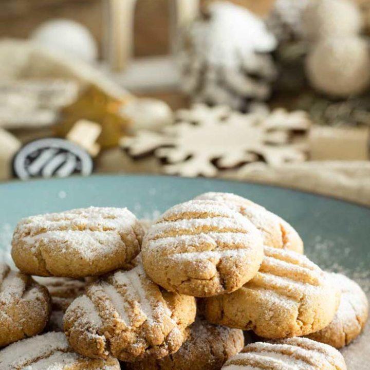 Low Carb Schneeflöckchen I by salala.de I Rezept ohne Mehl und ohne Zucker glutenfrei low carb 2