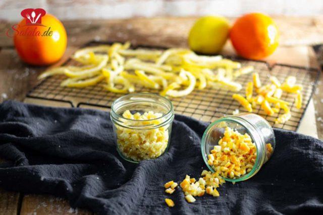 Zitronat und Orangeat ohne Zucker