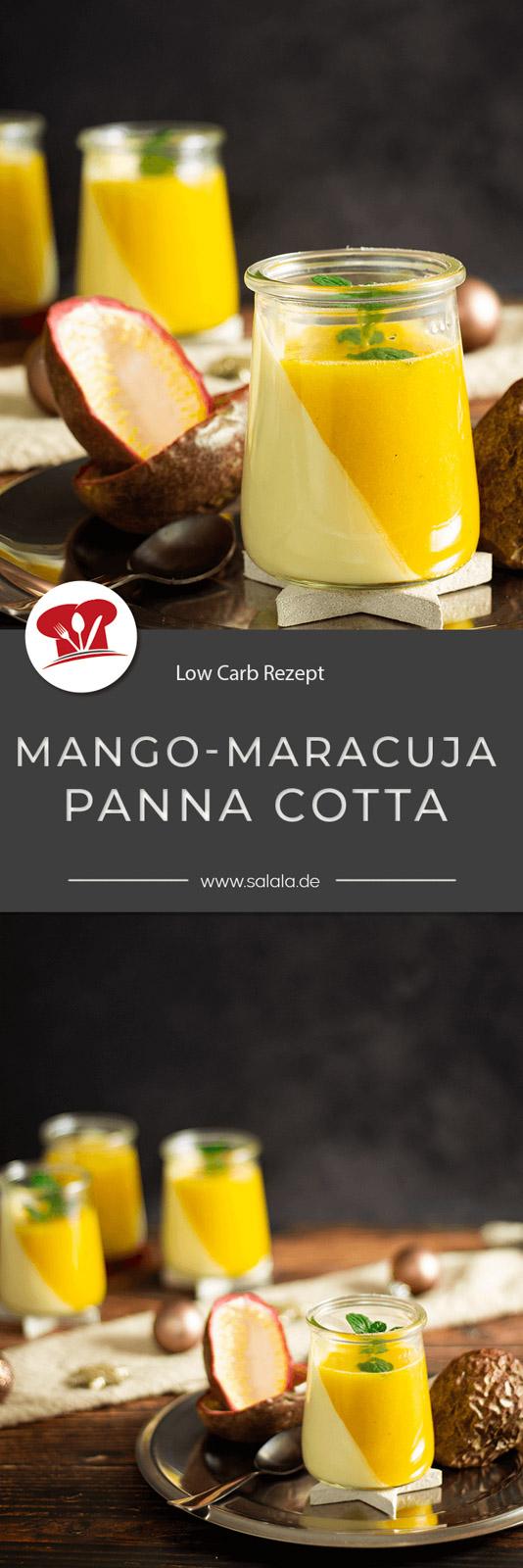 Jedes Jahr die selbe Frage. Was gibt's an Weihnachten als Nachspeise? Unsere Antwort in diesem Jahr? Mango-Maracuja-Panacotta ohne Zucker also in Low Carb. Schmeckt super lecker ist nur leider nicht Keto. Aber als Low Carb kann man das durchaus bezeichnen. Ein perfektes Weihnachtsdessert. #lowcarbpannacotta #pannacottaohneZucker #pannacottamitmango #weihnachtsdessert #maracujapueree #pannacottamitpueree #lowcarbdessert