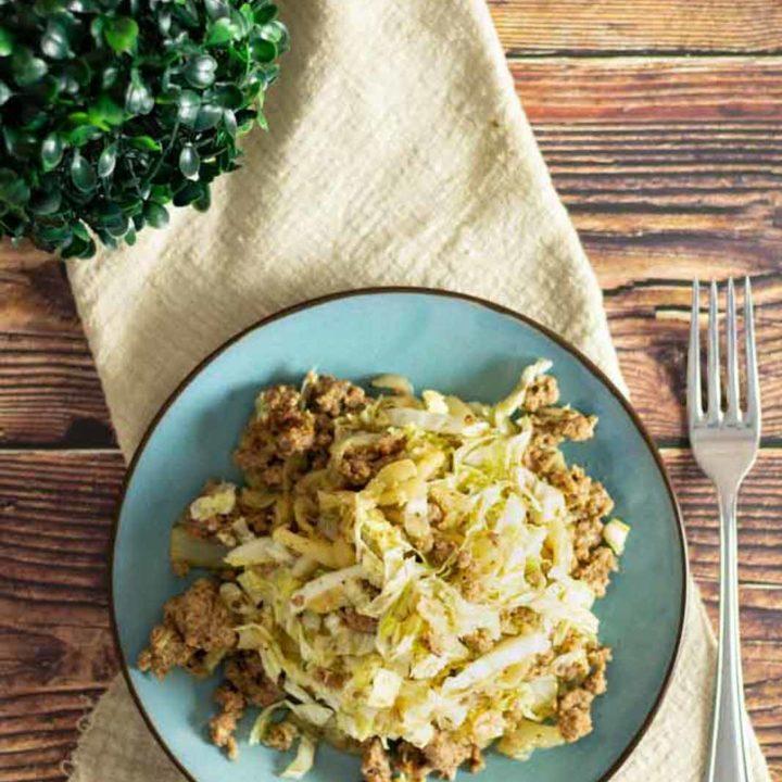 Chinakohl Hack Pfanne I by salala.de I ketogenes Abendessen mit Hackfleisch ohne Milchprodukte glutenfrei 2