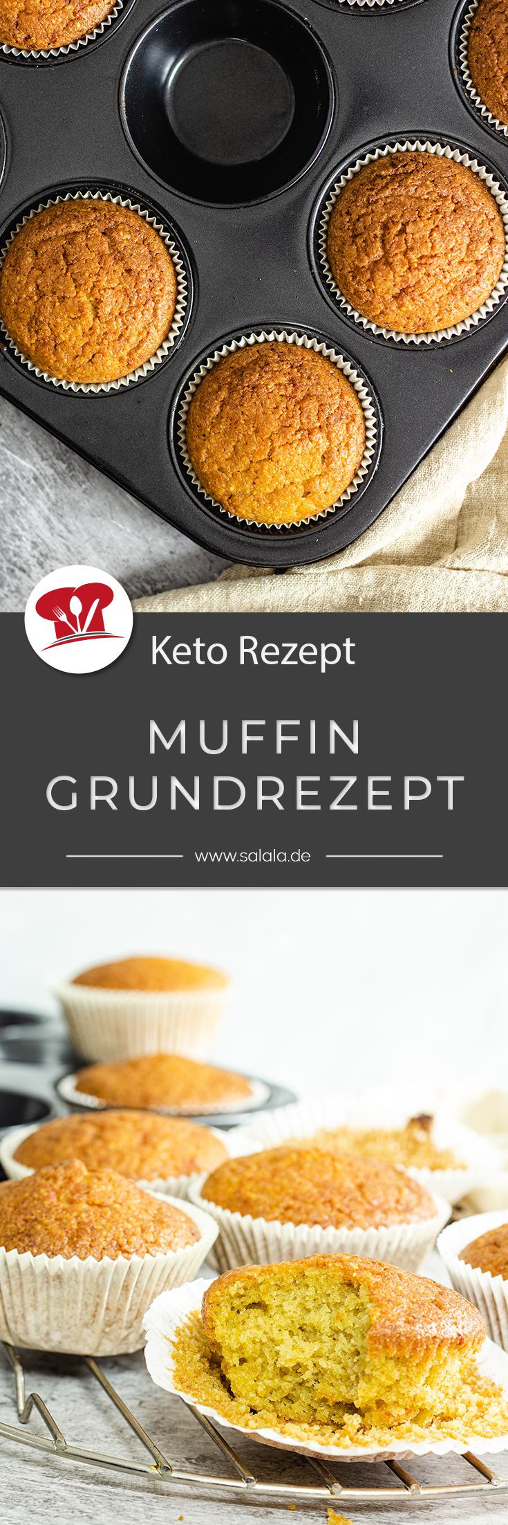 Low Carb Muffins mit Quark, mit Beeren oder mit Haselnüssen. Haben wir alles schon gemacht. Aber ein einfaches Keto Muffin Grundrezept, das gab's bei uns bisher noch nicht. Bis jetzt. Wir haben das ultimative Keto oder Low Carb Muffin Grundrezept für dich. Ganz ohne Mandelmehl. #KetoBacken #KetoBackrezepte #backenohneMehl #LowCarbBacken #MuffinsohneZucker #MuffinGrundrezept #MuffinmitMandel