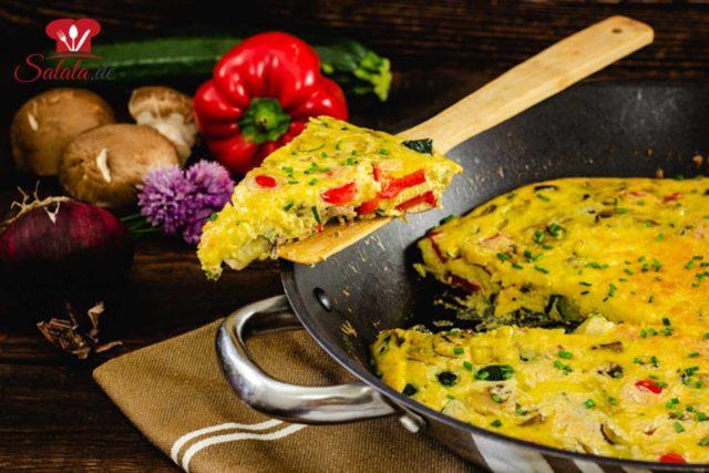 Veggie-Frittata zum Frühstück