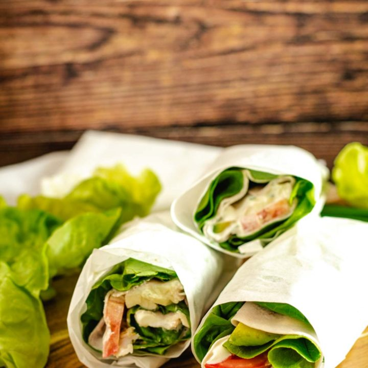 Salatwraps Low Carb und Keto Rezept 20200710 Pinterest2 01