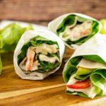 Rezept für Salatwraps Low Carb und Keto