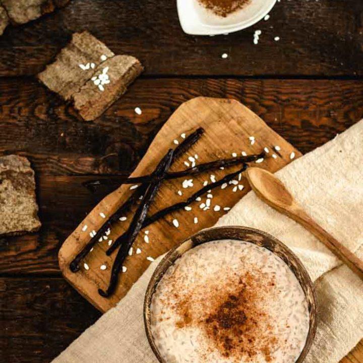 Milchreis mit Shileo Konjak Reis I Low Carb Rezept 20200805 Pinterest salala.de Hochkant 3