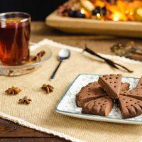 Keto Shortbread mit Kakao aus nur 4 Zutaten und 1 g KH pro Stück I glutenfreies Rezept