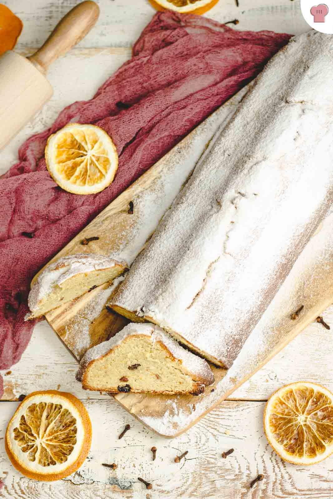 Stollen Rezept Low Carb und glutenfrei