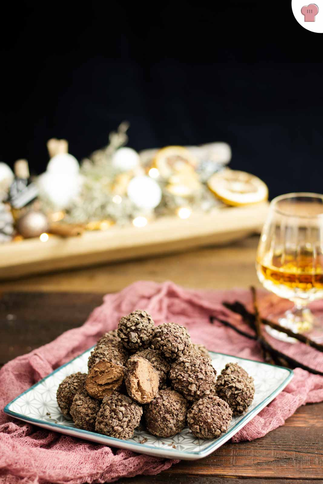 Schokokipferl Plätzchen Rezept zu Weihnachten