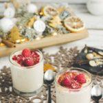 Macadamiamousse Veganes Keto Weihnachtsdessert ohne Zucker