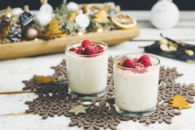 Macadamiamousse – Veganer Nachtisch zu Weihnachten ohne Zucker Low Carb