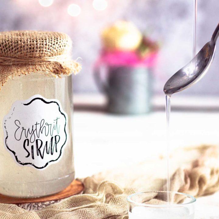 Sirup ohne Zucker aus Erythrit