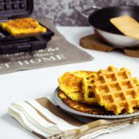 Chaffles ohne Mozzarelle Keto Waffel