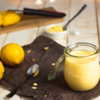 Lemon Curd mit Erythrit Keto Rezept