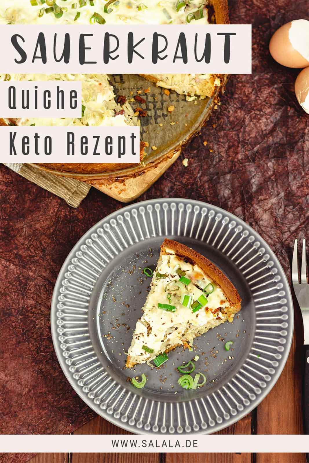 Keto Sauerkraut Quiche