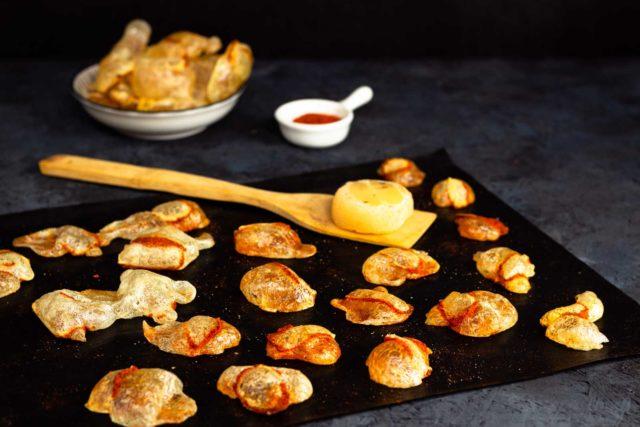 Harzer Chips Keto Chips aus Käse