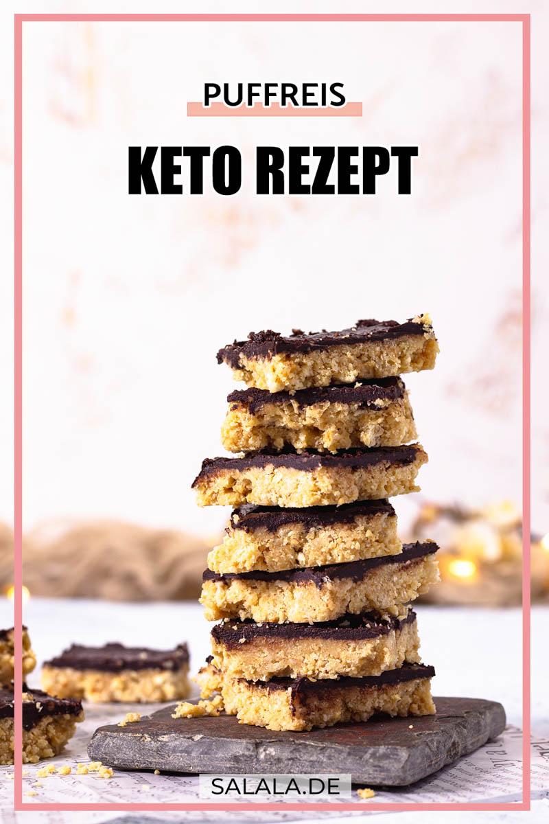 Puffreis Rice Krispies Treats Keto Rezept