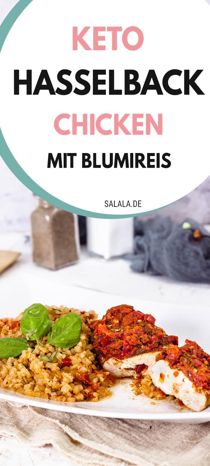 Hasselback Chicken - Gefüllte Hähnchenbrust