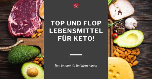 Welche Lebensmittel sind bei ketogener Ernährung erlaubt?