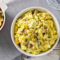 Eiersalat ohne Mayo Keto Rezept