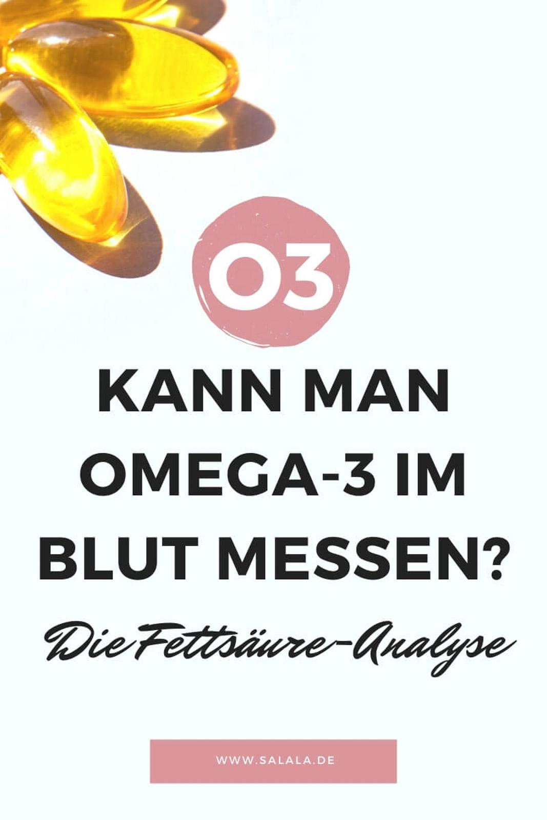 Kann man Omega-3 im Blut messen? Fettsäure-Analyse einfach erklärt