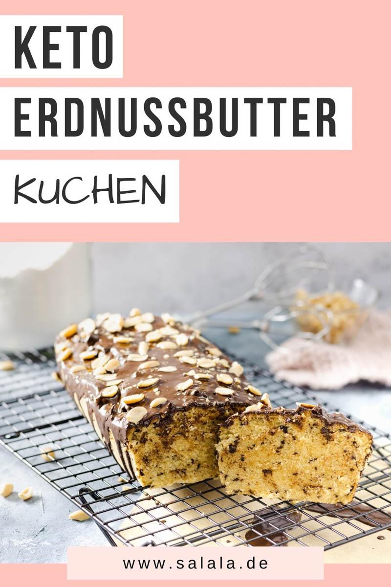 Erdnussbutter Kuchen ohne Zucker