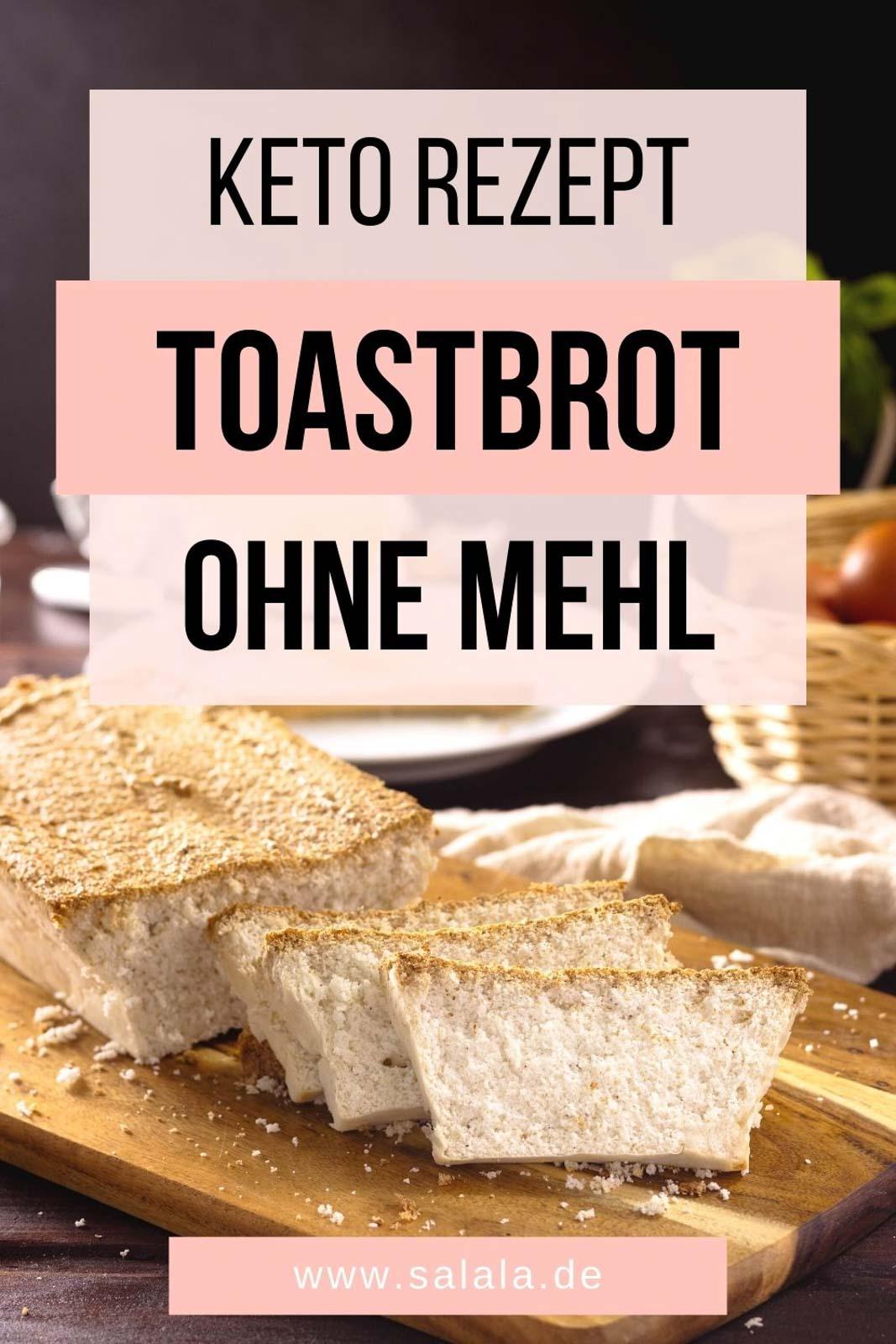Toastbrot ohne Mehl und Hefe